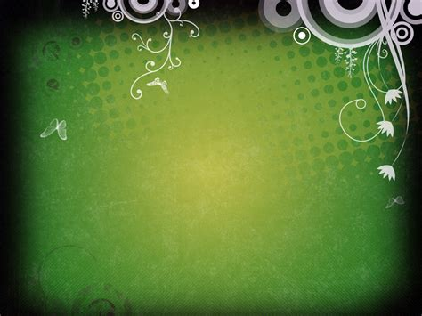 green themes for powerpoint 2007 ppt backgrounds templates august 2011