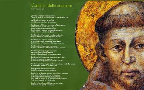 cantico delle creature testo italiano per bambini i bambini parlano cantico delle creature san