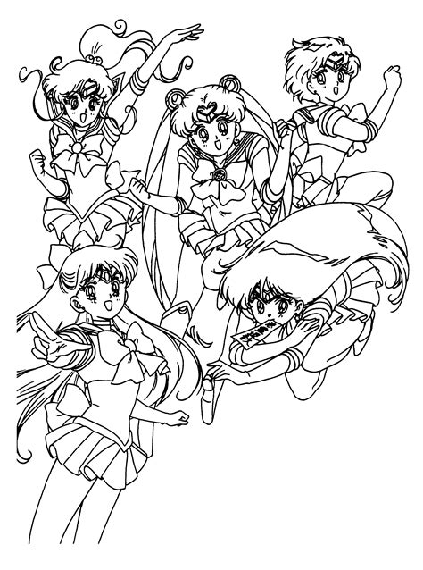 sailor moon coloring book coloring book for and adults 60 illustrations best coloring books volume 31 books coloring page sailormoon coloring pages 59