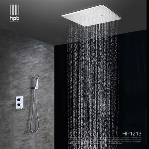 hpb brass bathroom hot and cold water mixer ceiling