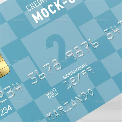 credit bank credit bank card mock up by ayashi graphicriver