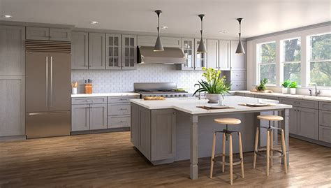 Light Grey Shaker Kitchen Rta Wood Kitchen Cabinets Ready To Assemble Kitchen Cabinets Cheap Rta Kitchen Cabinets