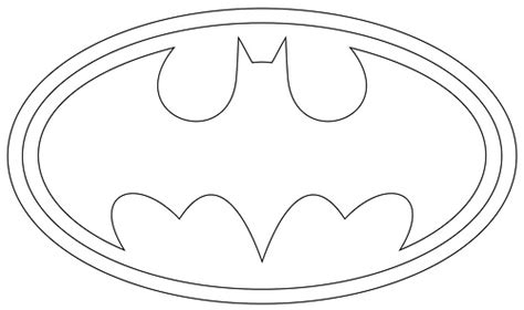 batman logo outlines flickr photo