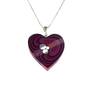 Handmade Jewellery Manchester - bilberry large pendant handcrafted manchester