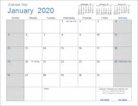 Downloadable Calendar Template by 2020 Calendar Templates And Images