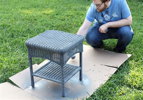 painting resin wicker outdoor furniture peenmedia com