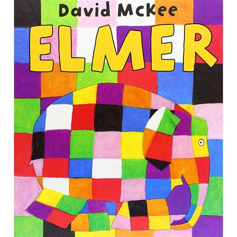 Elmer The Patchwork Elephant Story - boekbespreking elmer david mckee