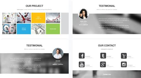 template powerpoint for company profile stock powerpoint templates free download every weeks