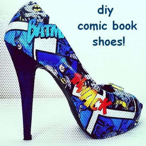 diy comic shoes pin by barney on doin it on my own