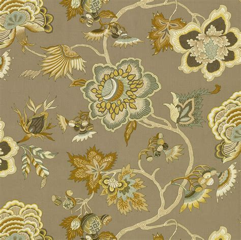 home decor print fabric iman plantation opal jo