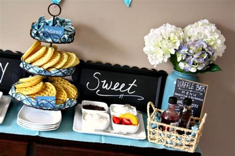 toppings for waffle bar eggo waffle bar for entertaining mammamoiselle