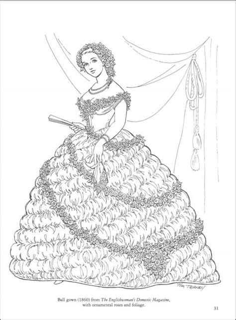 civil war fashions coloring book 013031 details