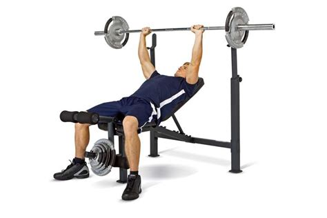 competitor olympic weight bench multipurpose home