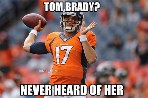Broncos Patriots Meme - nfl memes best insults to tom brady patriots after loss