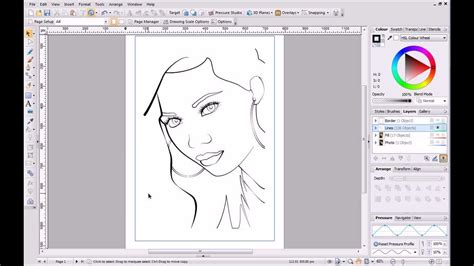 corel draw x5 has stopped working windows 7 serif drawplus x6 tutorial pen and pencil drawing youtube