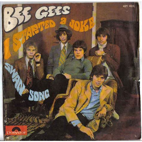 bee gees i started a joke video dailymotion bee gees i started a joke swan song vinyl at discogs