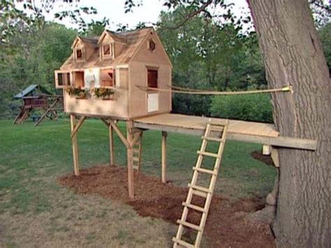 Diy Treehouse Plans Plans Kids Tree Houses Diy Ideas Diy And Crafts