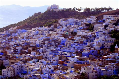 morocco blue city chefchaouen the blue city of morocco beautiful lands