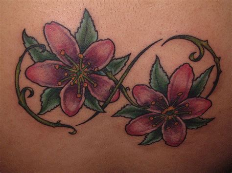 tattoo infinity flower 80 infinity symbol tattoos ideas