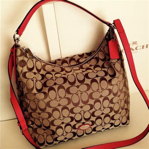 Coach Celeste 54 coach handbags sale nwt coach signature celeste handbag from allison s closet on
