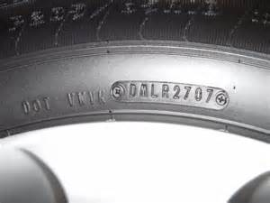 Auto Tire Expiration Dates Michelin Tires Manufacture Date