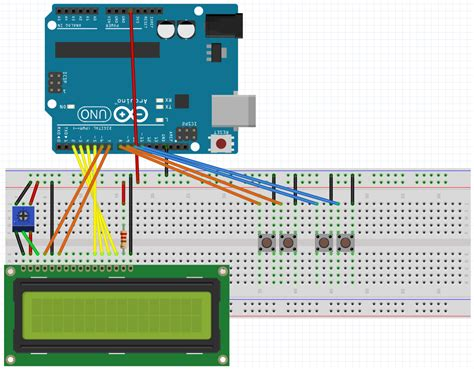 arduino tutorial menu arduino lcd tutorial display menu system scrolling menu