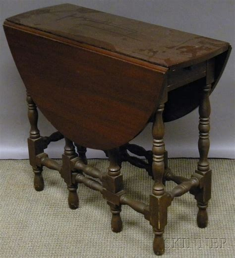 drop leaf table legs william style mahogany drop leaf gate leg table