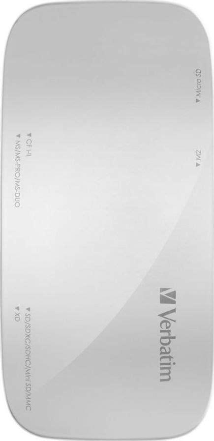 Card Reader Verbatim 64624 Usb 3 0 verbatim usb 3 0 universal memory card reader skroutz gr
