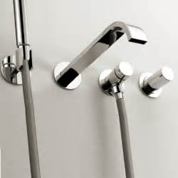 Bath Faucets With Hand Shower arch wall mount tub faucet with hand shower modern bathroom faucets