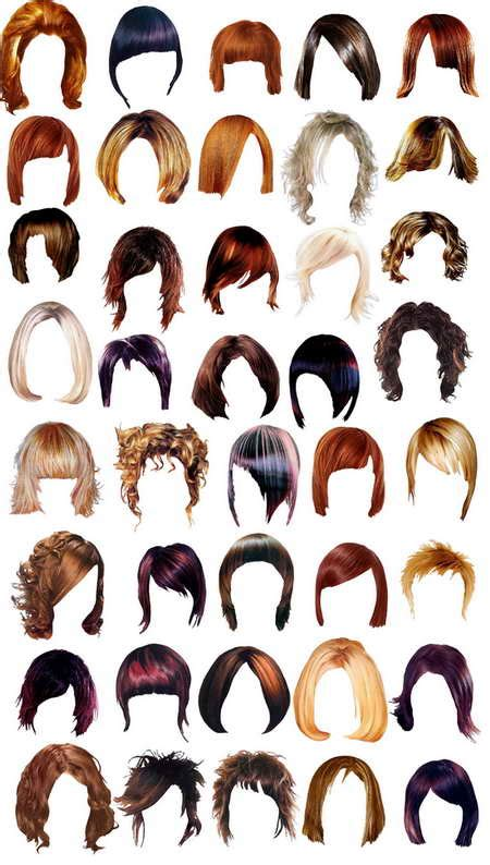 hairstyle templates hair facts