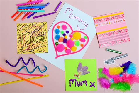 mothers day cards templates ks2 four easy s day cards for hobbycraft