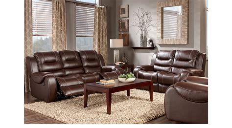 The Bay Living Room Furniture 1 538 00 Baycliffe Brown 3 Pc Living Room Classic