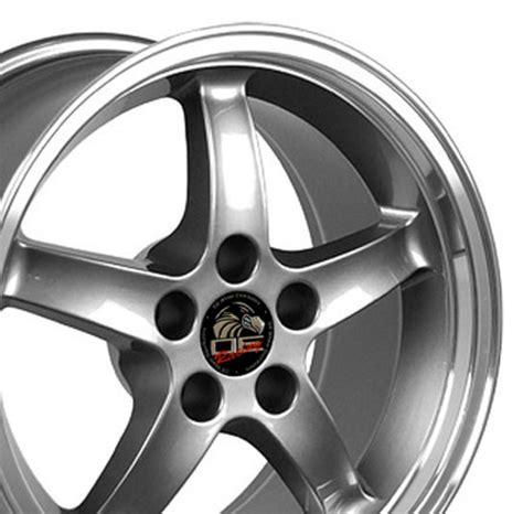 cobra r wheels ford mustang cobra r style replica wheel gunmetal 17x9