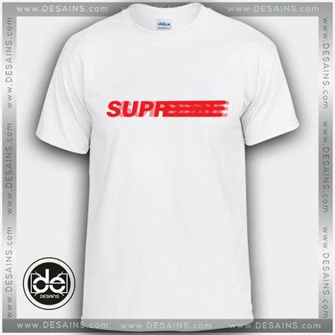 T Shirt Supreme Logo buy tshirt supreme motion blur logo tshirt mens tshirt
