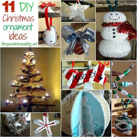 love  diy ornament ideas  thespacebetweenblognet
