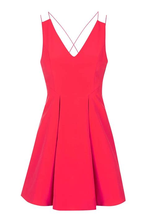 Dres Miny strappy bonded mini dress topshop
