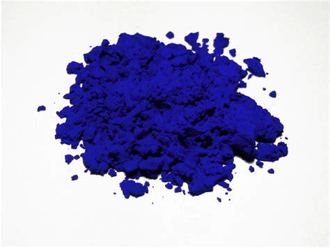 in the pigment powder everywhere international klein blue print magazine