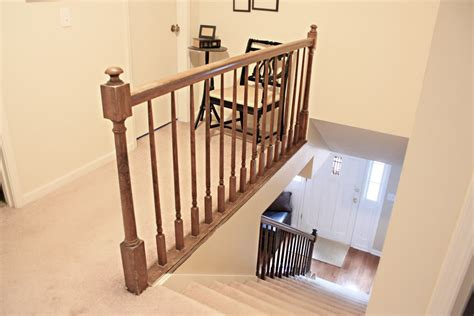Ideas For Guest Bathroom How To Paint Stairway Railings Bower Power