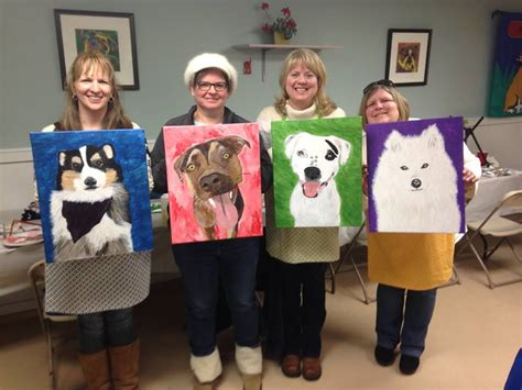 painting with a twist lansing paint your pet paint your pet event at dogwood acres dogwood acres pet