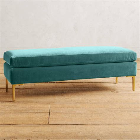 teal bench 28 teal bench lucite bench with tufted teal velvet upholstered top at teal