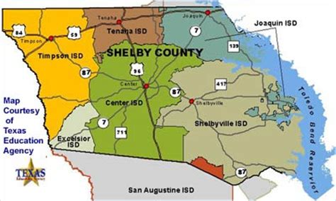 shelby county texas map shelby county texas school districts
