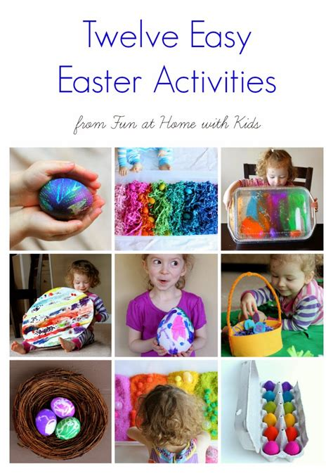 12 easy easter activities for toddlers and children