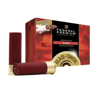 federal turkey maxd ammo 12 3 1 2 quot 2 1 4 oz 6