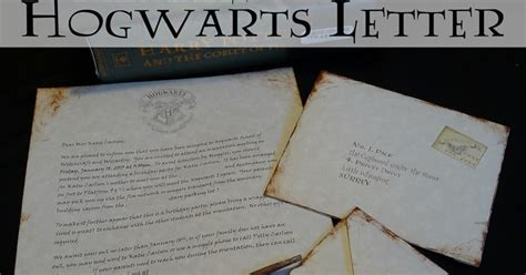 Hogwarts Acceptance Letter Script Pieces By Polly Printable Hogwarts Acceptance Letters Or Harry Potter Invitiations