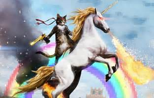 Photo of the day 50 caliber rambo kitty assault unicorn guns com