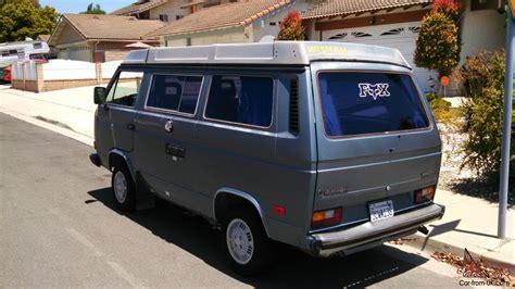 volkswagen vanagon 1987 1987 volkswagen vanagon gl quot rust free quot california