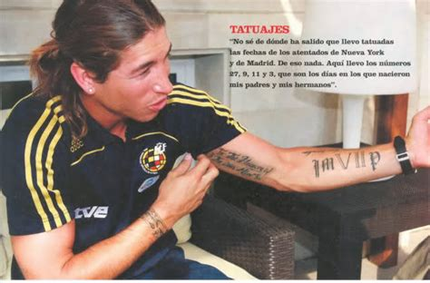 sergio ramos tattoo wrist dating sergio ramos best soccer styles