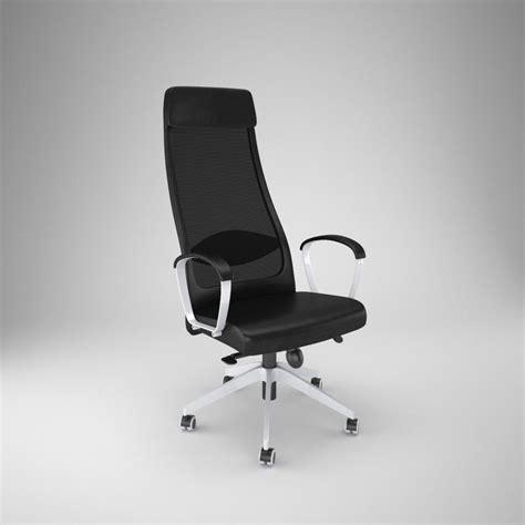 ikea markus chair ikea markus office chair 3d obj
