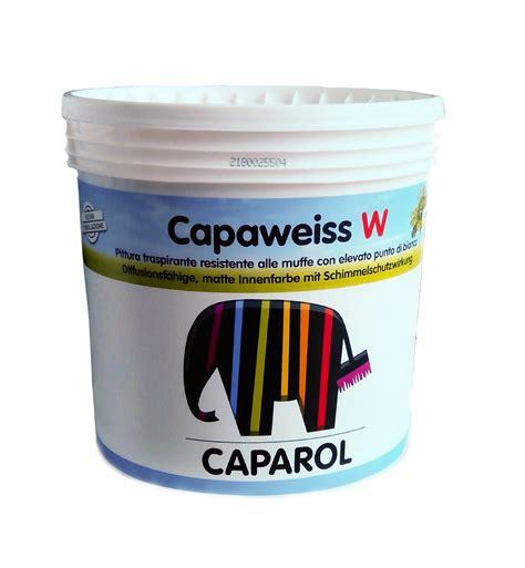 pitture traspiranti per interni pittura traspirante opaca capaweiss w per interni