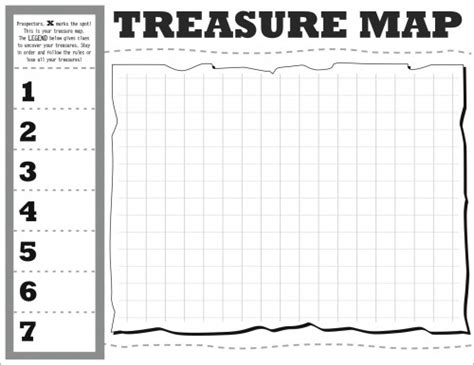 map templates treasure map diy hip hip hooray